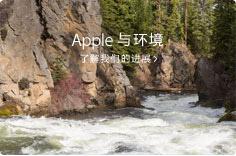 Apple 与环境了解我们的进展