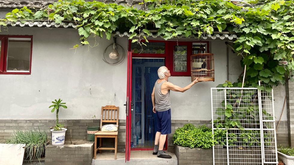 胡燕超在 Today at Apple 创想营北京的摄影作品。