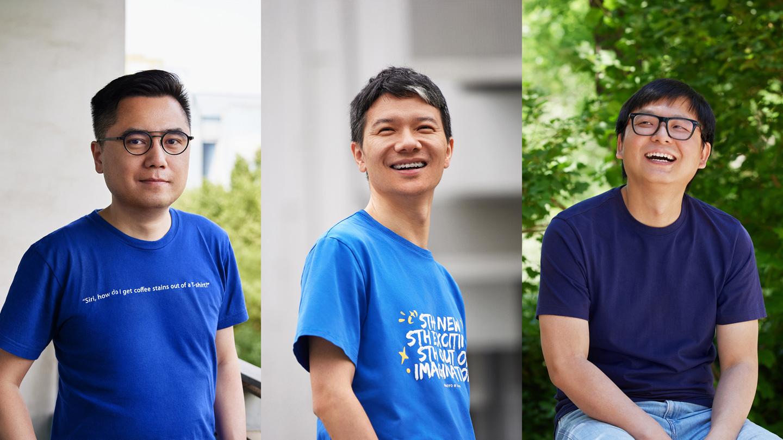 从左到右,林嘉澍,NOMO 开发者;刘伟,原神开发者;瞿章才,西窗烛开发者。将他们富有创意的想法通过 App Store 付诸现实。