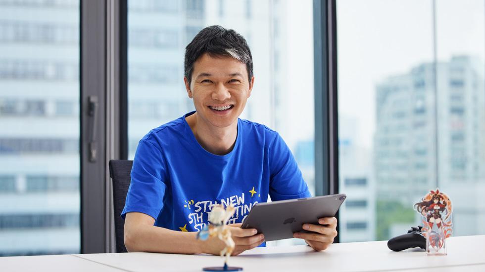 刘伟,米哈游创始人,原神开发者。