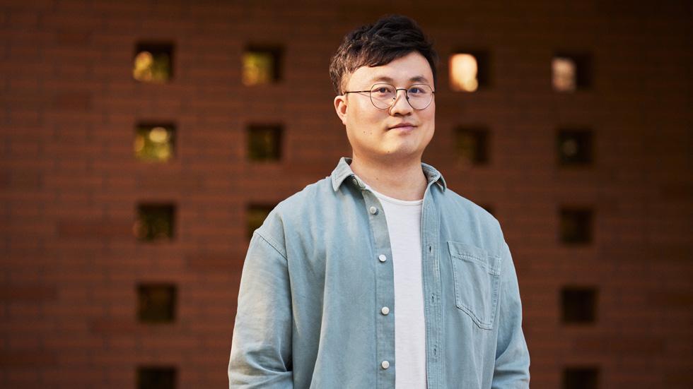 浙江工业大学教师张乐凯,对编程充满热情。
