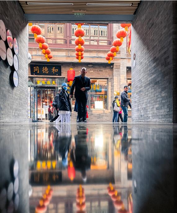张雨 使用 iPhone Xr 于北京拍摄