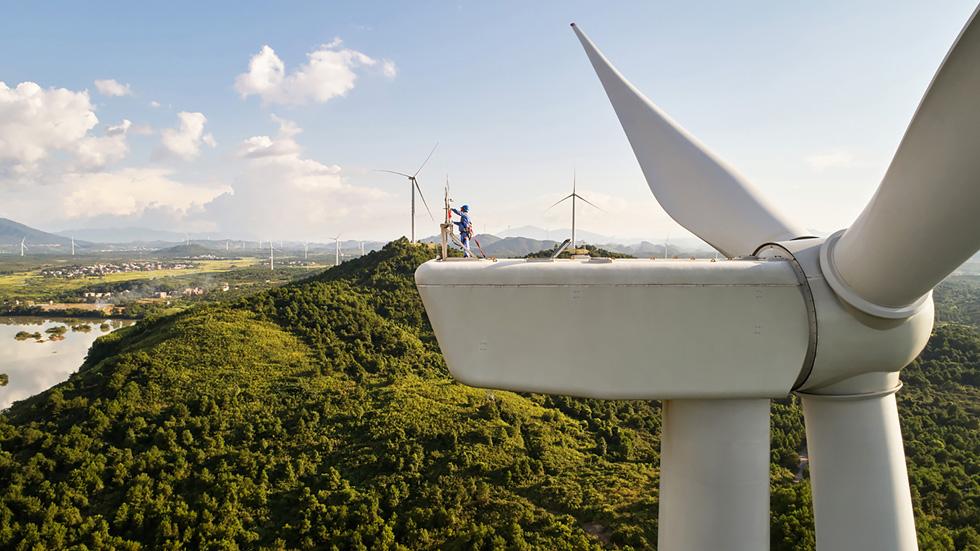 位于中国湖南道县的协合井塘风电场由协合新能源集团开发,清洁能源装机容量为 48 兆瓦。