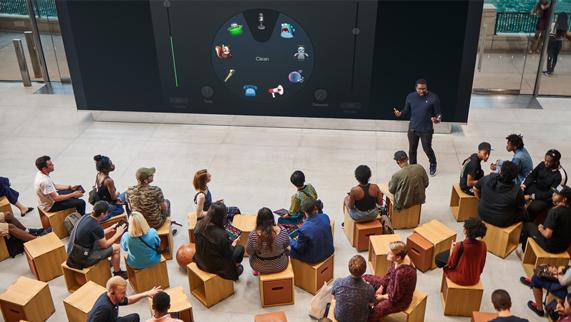 Forum 互动坊的俯视图。