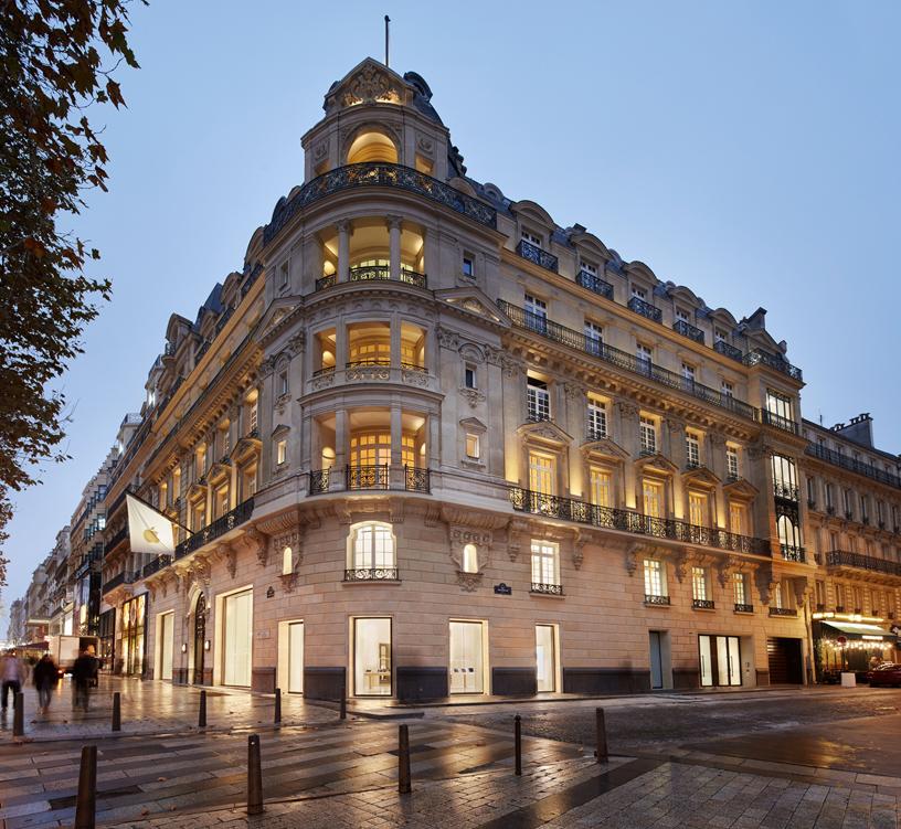 Apple Champs-Élysées 将在巴黎著名购物街开幕。