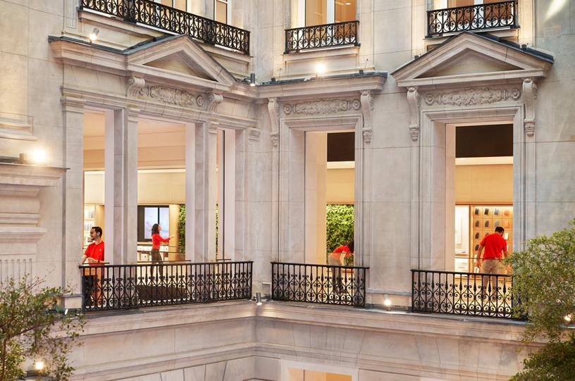 这个空间再现了奥斯曼时代建筑的原创细节。