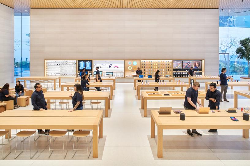 Apple Antara 内景。
