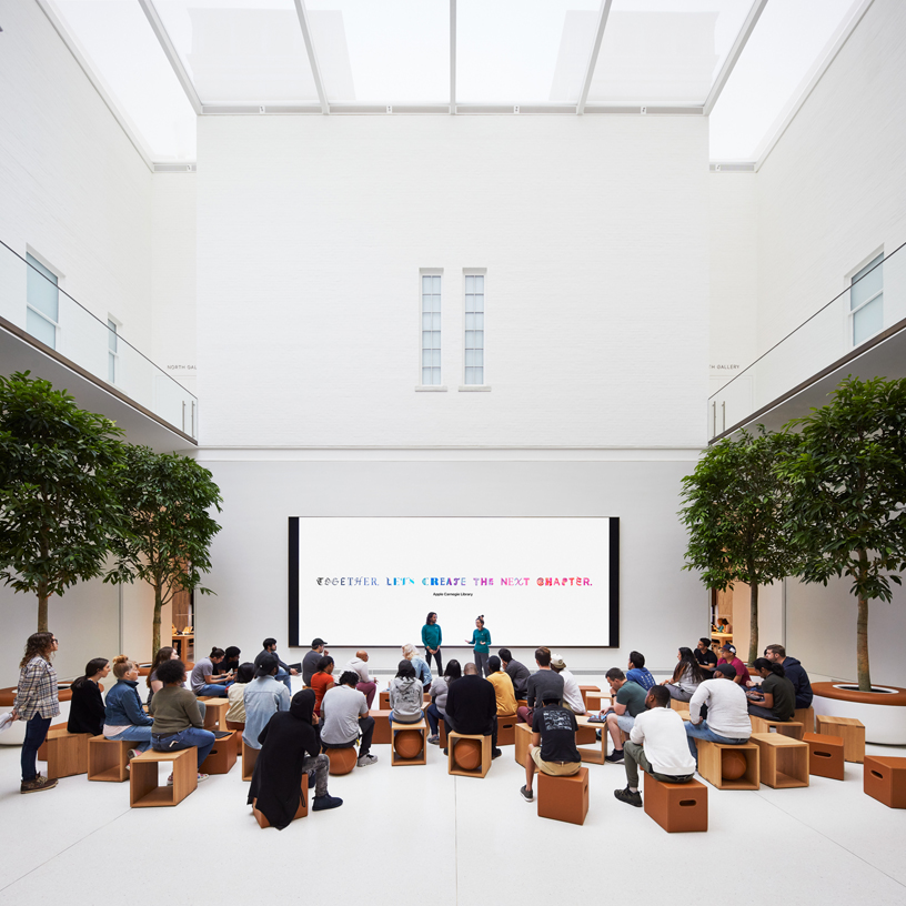 Forum 互动坊将举办丰富多彩的 Today at Apple 活动。