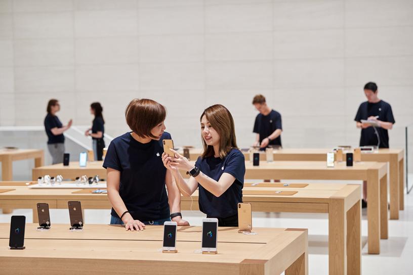 Apple 信义 A13 的团队成员。
