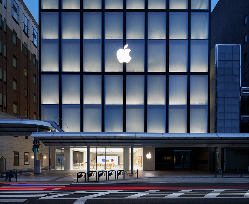 Apple Kyoto 零售店。