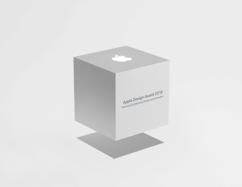 Apple Design Awards 的 Cube Award 标志图片
