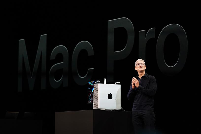 Tim Cook 发布功能强大的全新 Mac Pro 和 Apple Pro Display XDR,后者是迄今为止 Apple 最好的专业显示器。