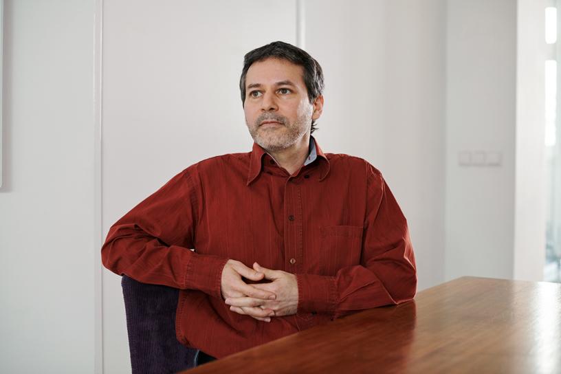 AssistiveWare 的首席执行官 David Niemeijer。