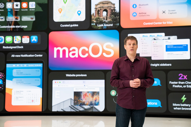 Andreas Wendker 在 WWDC20 上的《Platforms State of the Union》。