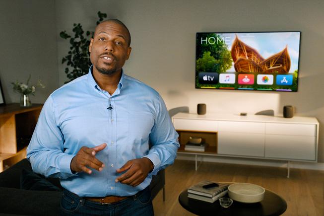 Yah Cason 在 WWDC20 上介绍家庭 app 的更新。