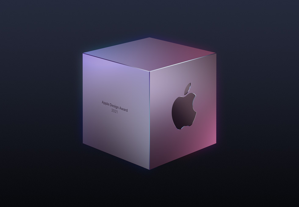 Apple Design Awards 奖杯。