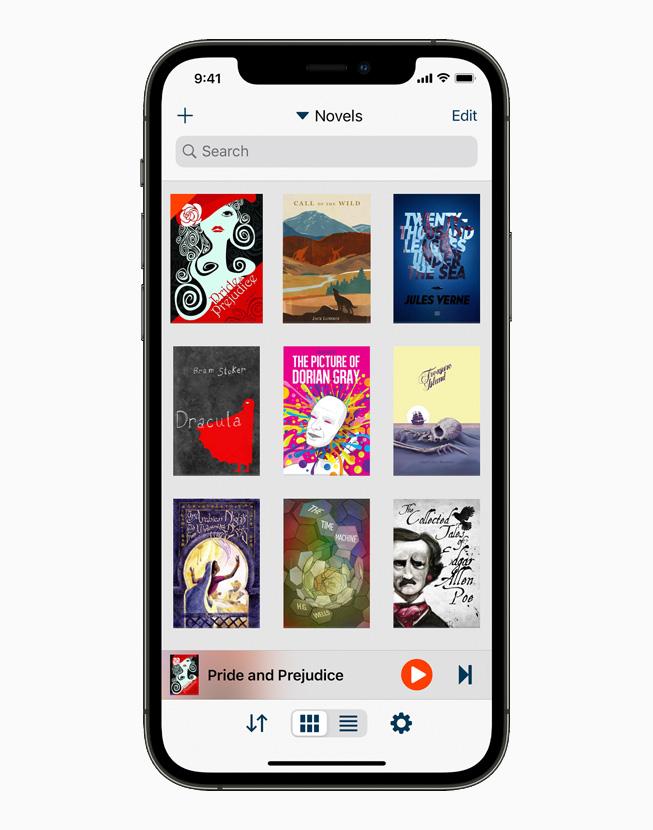 声之梦朗读器,在 iPhone 12 Pro 上展示。