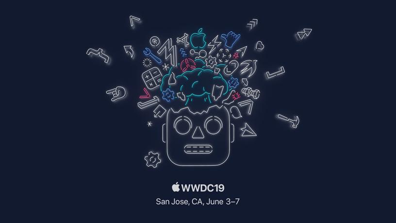 WWDC19 标志。
