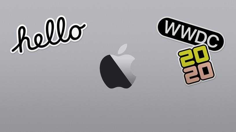 Apple WWDC 2020 插图。