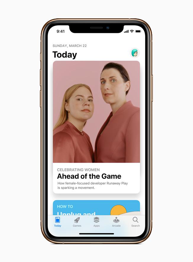 App Store 重点介绍女性开发者、设计师和企业家。