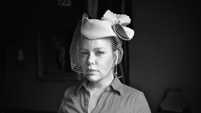 摄影师 Yvonne Venegas 的黑白人像照。