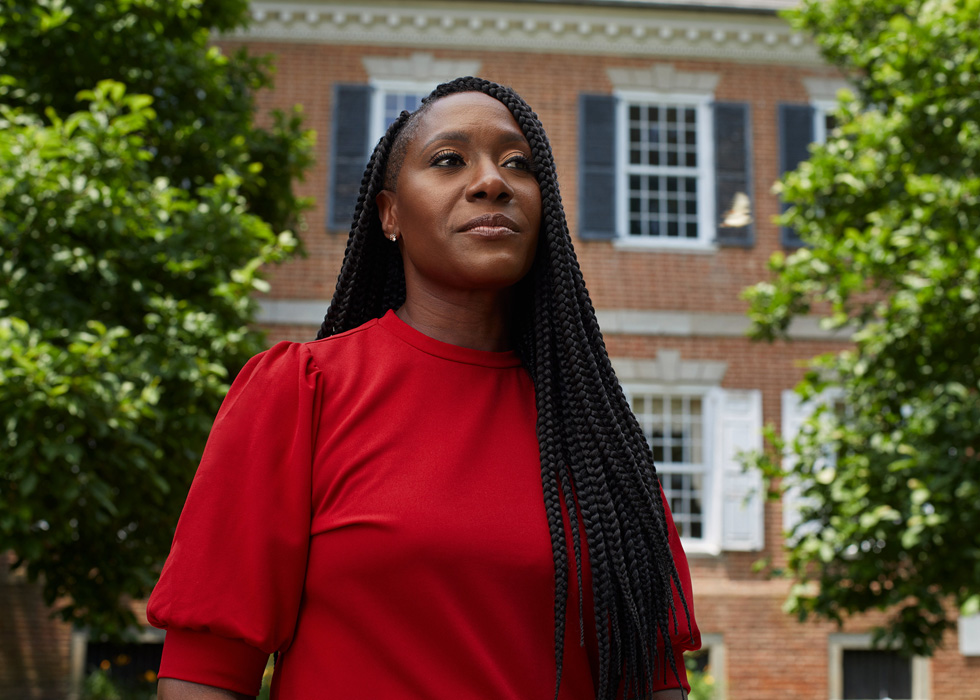 特拉华州立大学的 Francine Edwards 博士