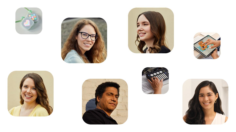 imagiLabs 联合创始人 Beatrice Ionascu、imagiLabs 联合创始人 Paula Dozsa、Hopscotch 创始人 Samantha John、ShapeShifter Labs 联合创始人 Matt Garrison、imagiLabs 联合创始人 Dora Palfi