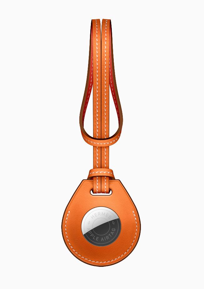 AirTag Hermès 包饰。