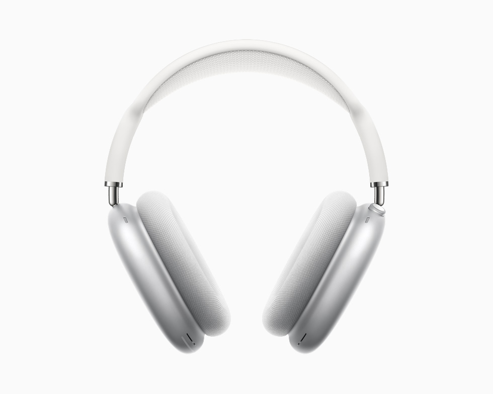 AirPods Max 银色。