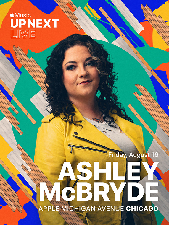 Apple Michigan Avenue 将举办 Apple Music Up Next Live,Ashley McBryde 将现场演出。