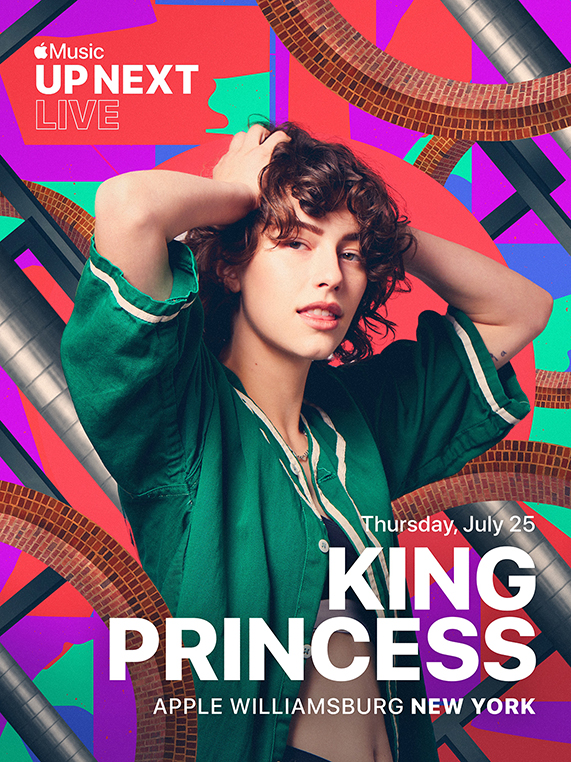 Apple Williamsburg 将举办 Apple Music Up Next Live,King Princess 将现场演出。