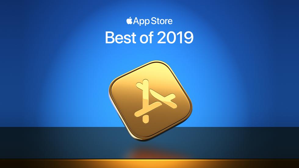App Store 2019 年度精选版块。