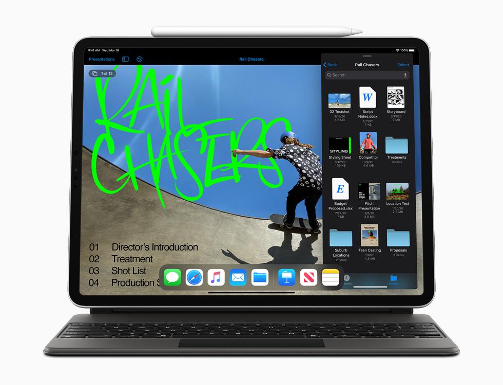 Apple 更新旗下 iPad Pro 产品线,A12Z Bionic 芯片 + 多摄像镜头及触控板支持,售价 RM3499 起 22