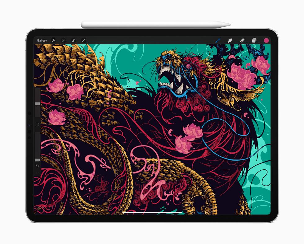 Apple 更新旗下 iPad Pro 产品线,A12Z Bionic 芯片 + 多摄像镜头及触控板支持,售价 RM3499 起 20