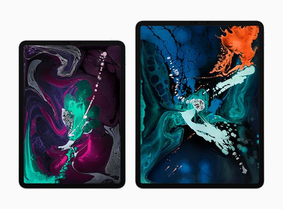 11 英寸和 12.9 英寸 iPad Pro。