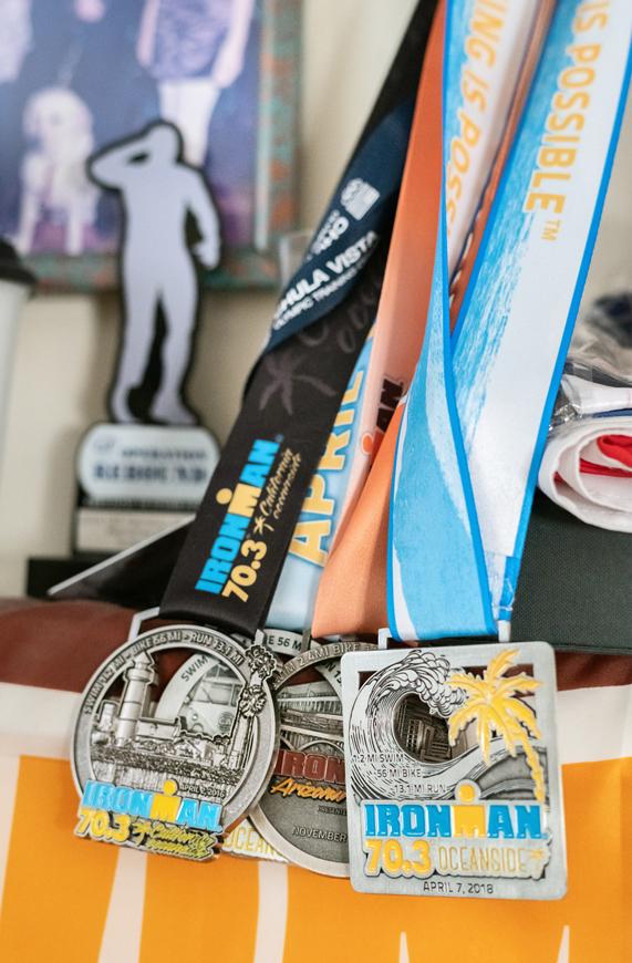 Scott Leason 收藏的奖牌。