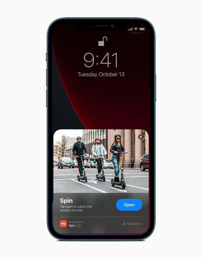iPhone 12 Pro 上显示的一款轻 App。
