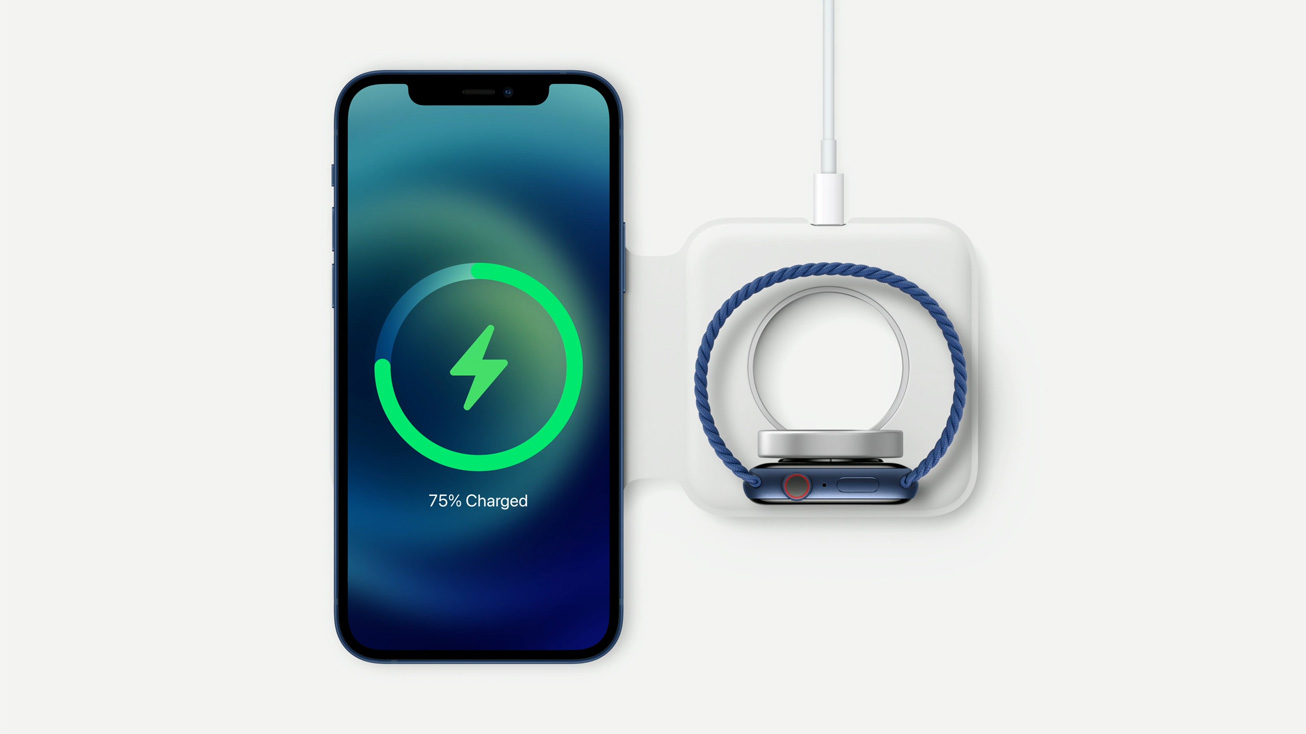 Apple MagSafe Duo Charger for iPhone and Apple Watch