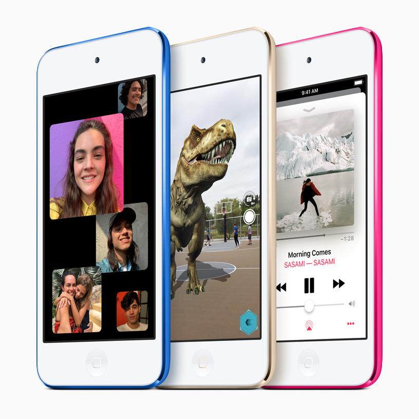 新款 iPod touch 系列。