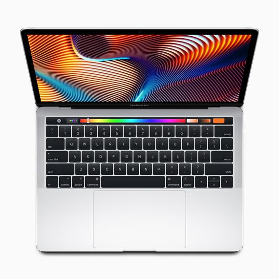 配备触控栏的 13 英寸 MacBook Pro。