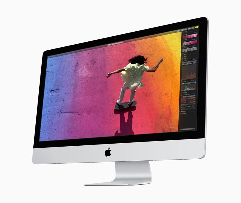 配备视网膜显示屏的 iMac。