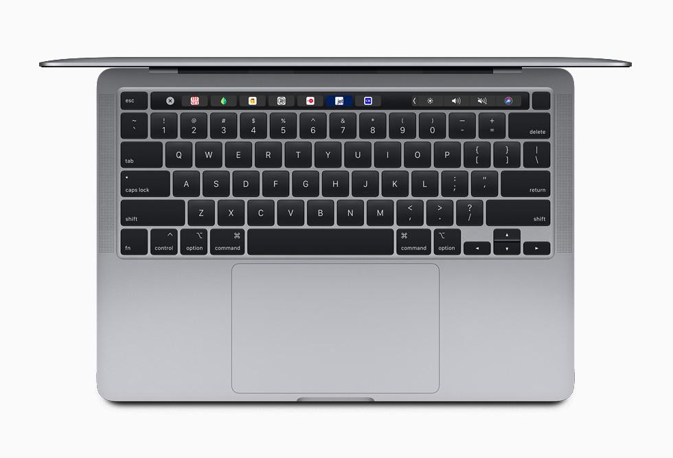 配备妙控键盘的 13 英寸 MacBook Pro。