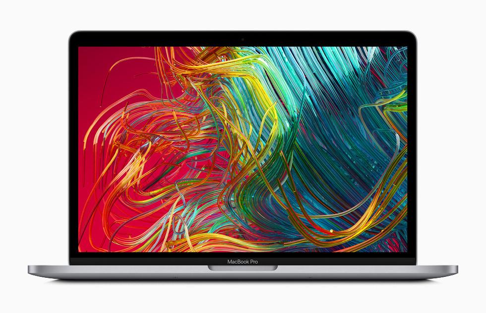 MacBook Pro 的视网膜显示屏。