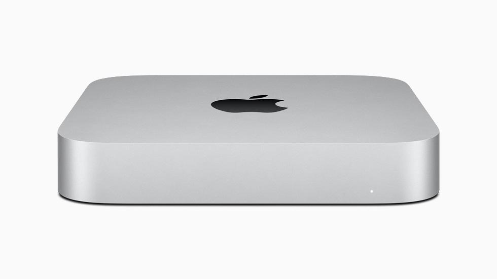 新款 Mac mini 由 M1 芯片强势驱动。