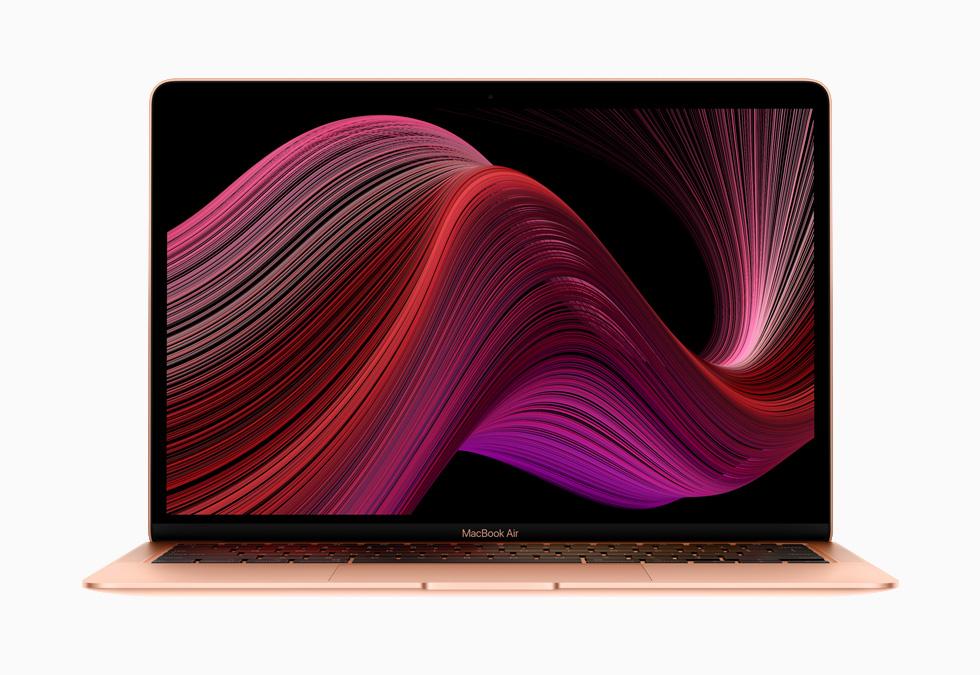 新款 MacBook Air。
