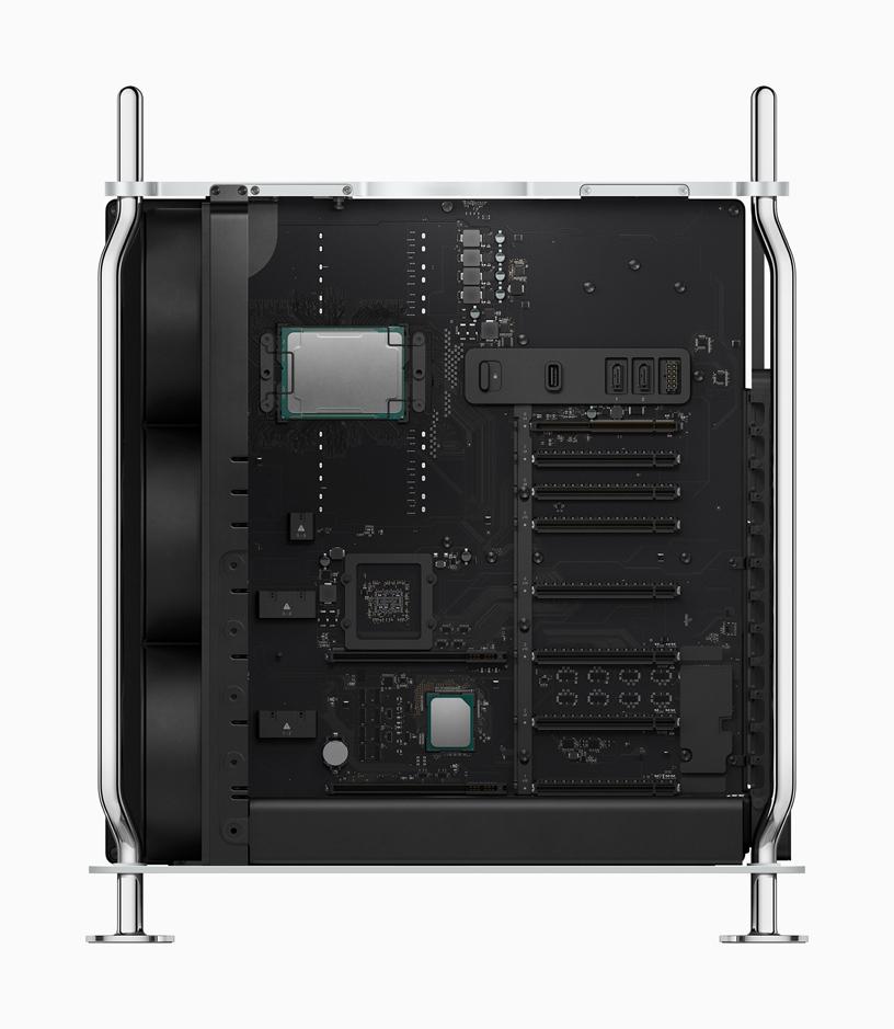 Mac Pro 配备强大的 Xeon 处理器。