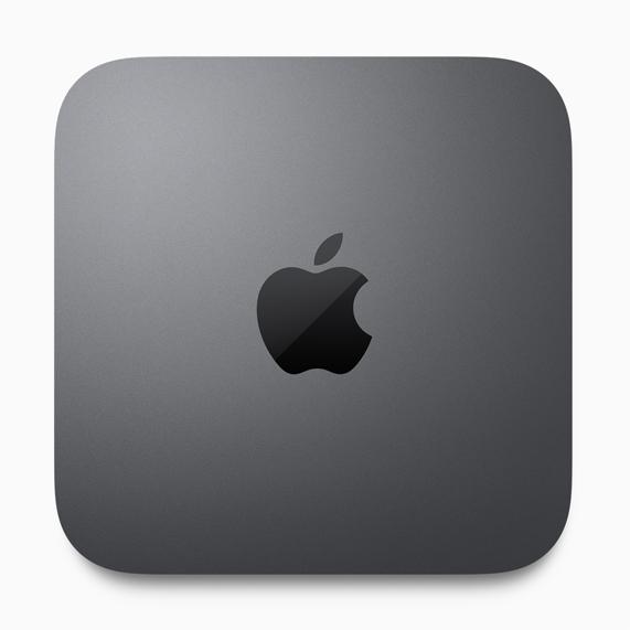 全新深空灰色 Mac mini。