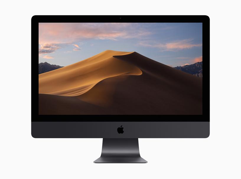 台式 Mac 和新 macOS 的屏幕快照