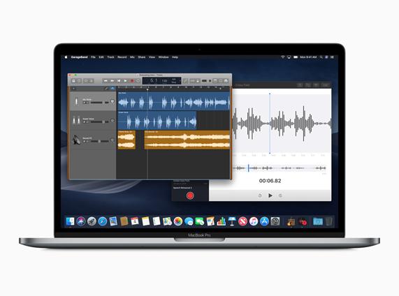新的 Apple 语音备忘录桌面小组件图像
