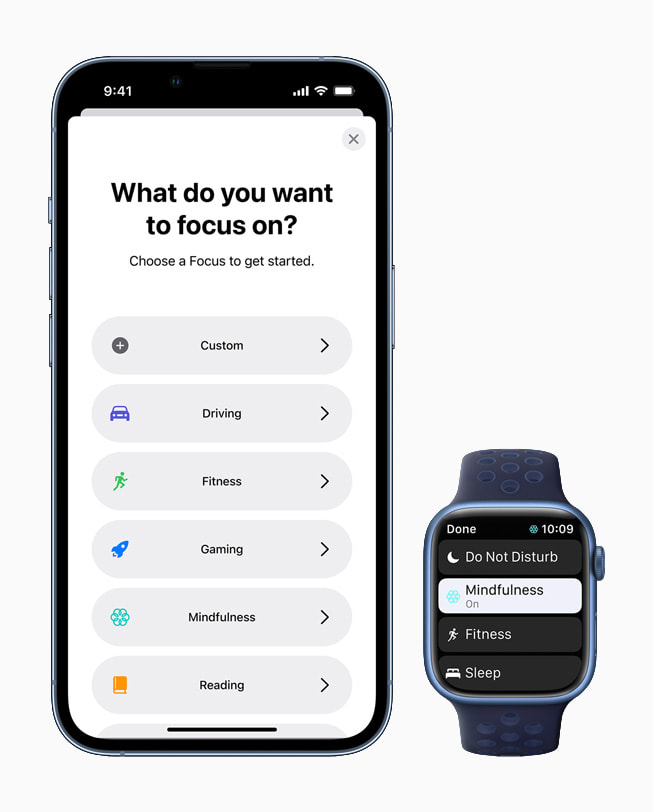watchOS 8 支持专注模式,这是 iOS 15 中发布的一整套强大的工具,帮助用户减少分心并保持专注。